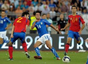 Spain Italy football