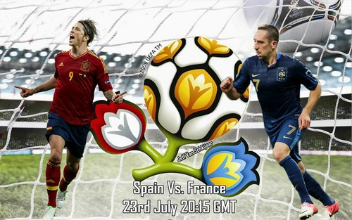 Spain France Euro 2012